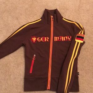 Germany Zip Up Jacket
